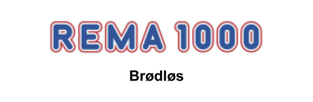 Rema 1000 Brødløs logo