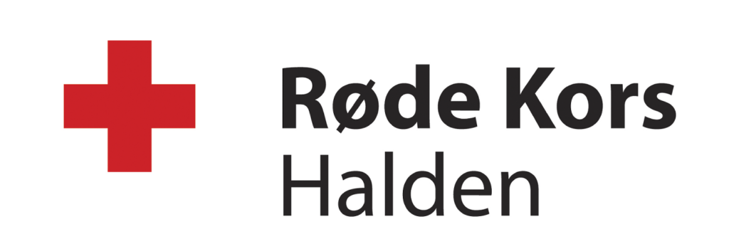 Røde kors Halden logo